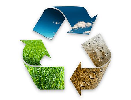 Entsorgung-Putzen-Recycling